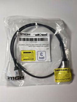SecurOMax HDMI Cable  3 Feet