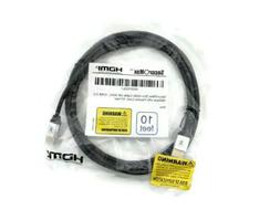 SecurOmax HDMI Cable  with Flexible Cord 10 Ft