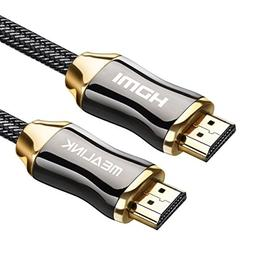 MEALINK HDMI Cable 15 Feet  Braided Cord Supports 4K@60Hz|Hi