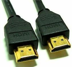 HDMI Cable Ethernet 3D 4K 1080p Multiple Lengths 1-25 Feet L