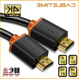 Cabletime HDMI Cable High Speed 4K 2.0 60hz 3D Full HD Premi