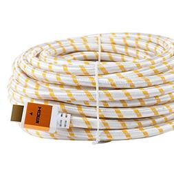 CableVantage 50FT 50 FT HDMI Cable, HDMI Cable HDMI-50FT Gol