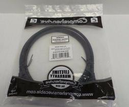 Comprehensive HDMI Cable W/Ethernet 6 Ft. MHD-MHD-6PROBLK 10