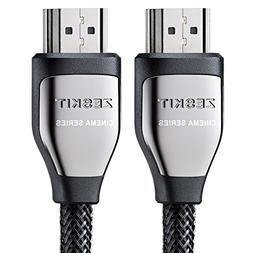 Zeskit HDMI Cable 3ft  - HDCP 2.2 - HDMI 2.0 High Speed 18Gb