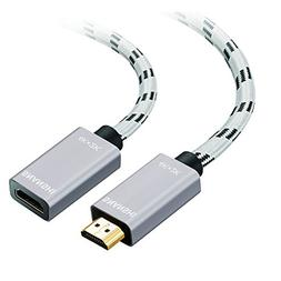 HDMI Extension Cable 3ft, SNANSHI HDMI Extender for Fire Sti
