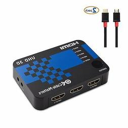 Cable Matters 5-Port HDMI Switch Supporting 4K Resolution wi