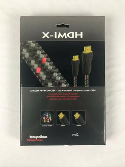 AudioQuest HDMI-X 2 meter cable