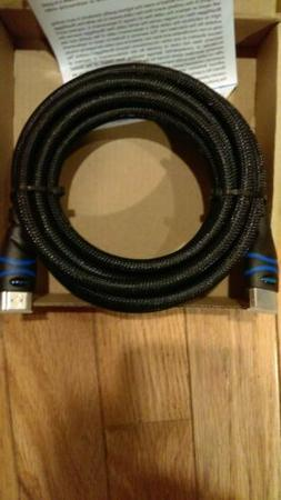 BlueRigger High Speed HDMI 10ft Cable. New.