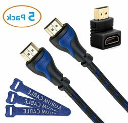 Aurum Cables - High Speed HDMI Cable 2.0 with Ethernet - 15