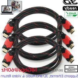 High Speed HDMI Cable 30 FT 1.4 1080P Ethernet-Audio Return