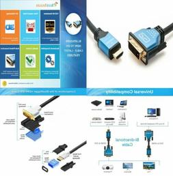 BlueRigger High Speed HDMI to DVI Adapter Cable