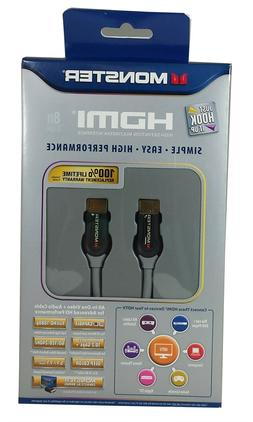 Monster Cable Just Hook It Up HDMI Cable - 8 ft