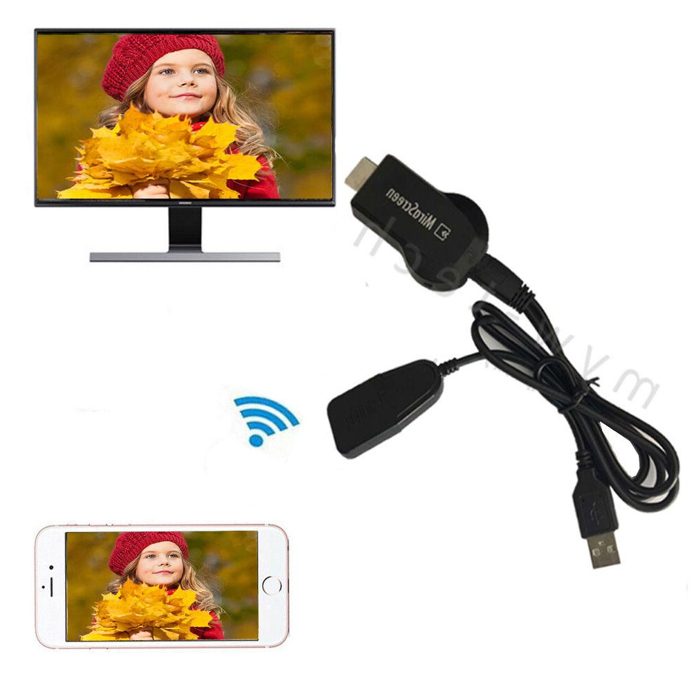 1080P HDMI AV Adapter Cable Dongle for connect Samsung Galax