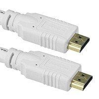 20ft 24AWG CL2 Standard HDMI® Cable With Ethernet - White