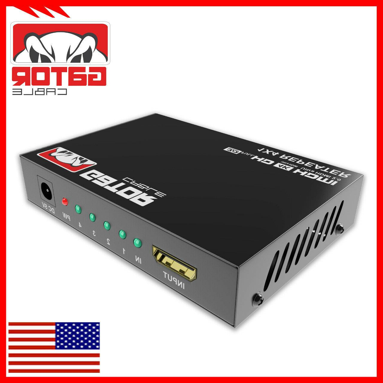4K 2.0 Repeater Mirror Amplifier HUB 3D In Out