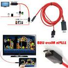 6ft 1080P MHL USB HDMI AV TV Cable Adapter For Samsung Galax