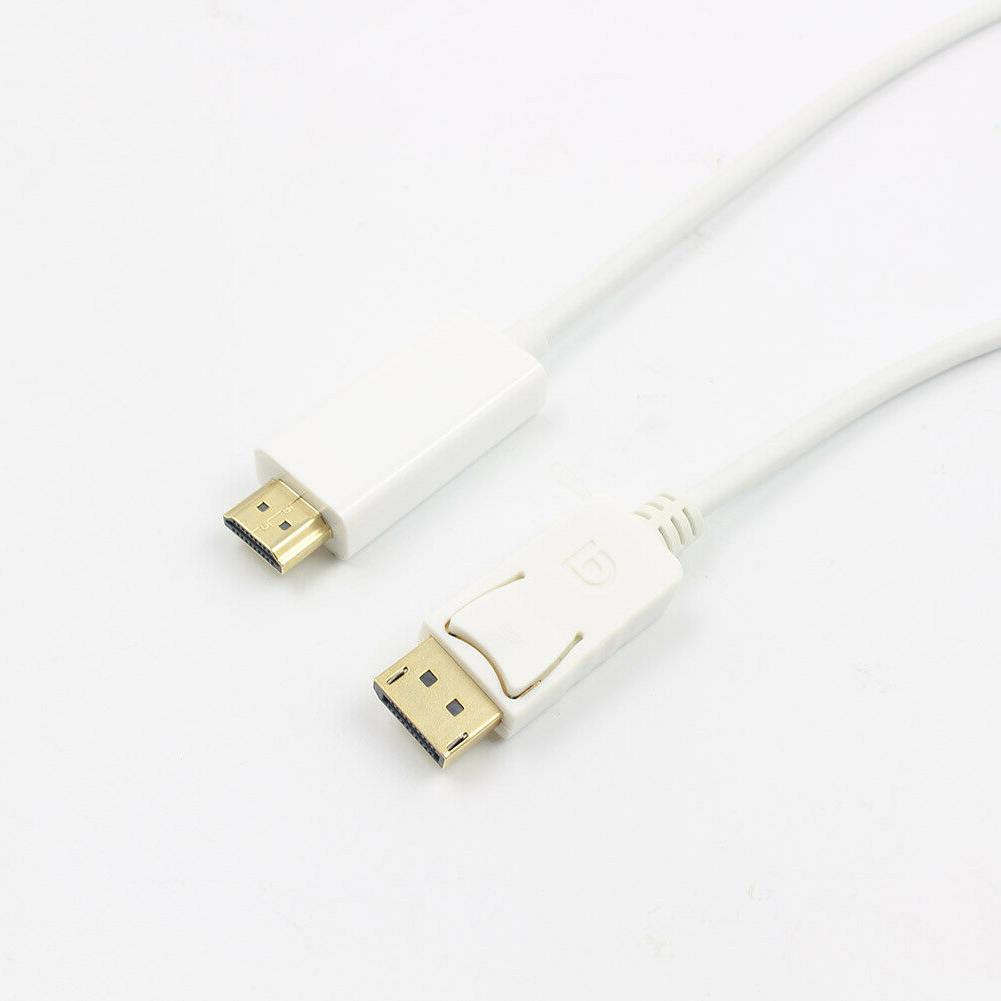 6FT Display DP to Adapter Converter Cable Laptop
