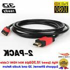 6FT High Quality Mini HDMI Type C Cable Lead For Canon HTC-1