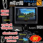 "Lilliput 7"" 5D-II 5D2 HDMI Monitor Canon 5D Mark II+HDMI cab"