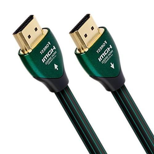 AudioQuest Forest 3.0m  Black/Green HDMI Cable