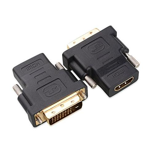 Cable Matters  Gold-Plated DVI to HDMI  Adapter