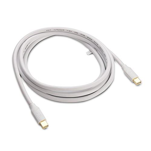 Cable Matters Cable in White Feet - 4K Ready