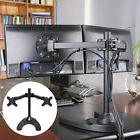 Adjustable Computer Monitor Desk Mount for Dual LCD Flat Scr