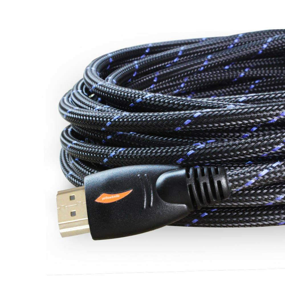 long 25ft hdmi cable 1080p 4k ethernet