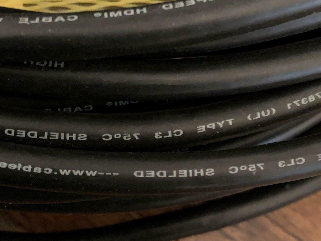 C&E Speed Cable Male/Male Ethernet In
