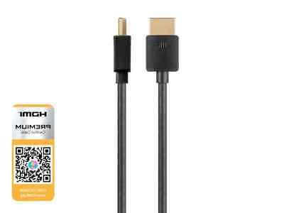 certified ultra slim speed hdmi