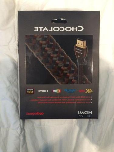 chocolate hdmi cable w ethernet 3d 4k