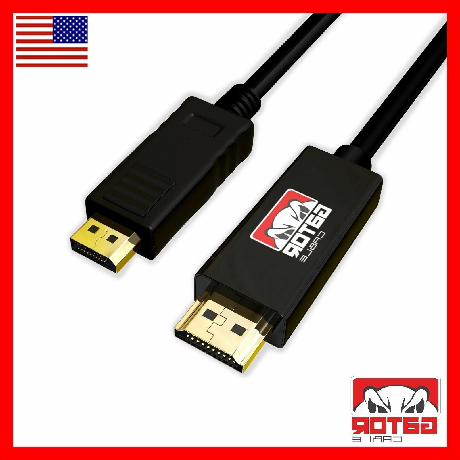 Display Cable Audio to HDMI Cable 6FT