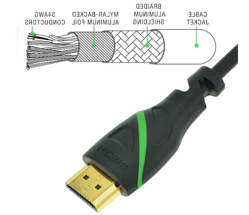 Mediabridge Flex Series HDMI 2.0 High-Speed Cord 4K 60Hz HD New