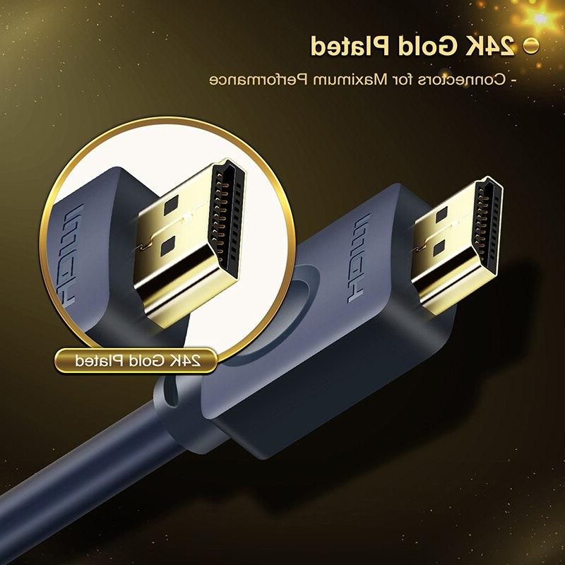 CABLETIME <font><b>HDMI</b></font> <font><b>cable</b></font> 4k 2.0 Office Home to Xiaomi Nintend Switch PS4 TV