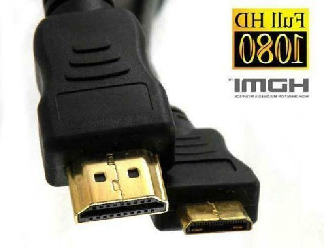 Importer520 Gold Plated Hdmi To Hdmi Mini Cable, 2 M/6 Ft