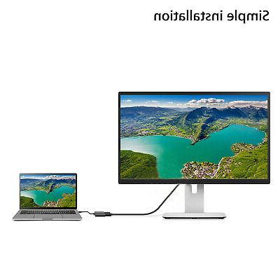 HD 1080P HDMI to USB Cable Adapter Laptop HDTV
