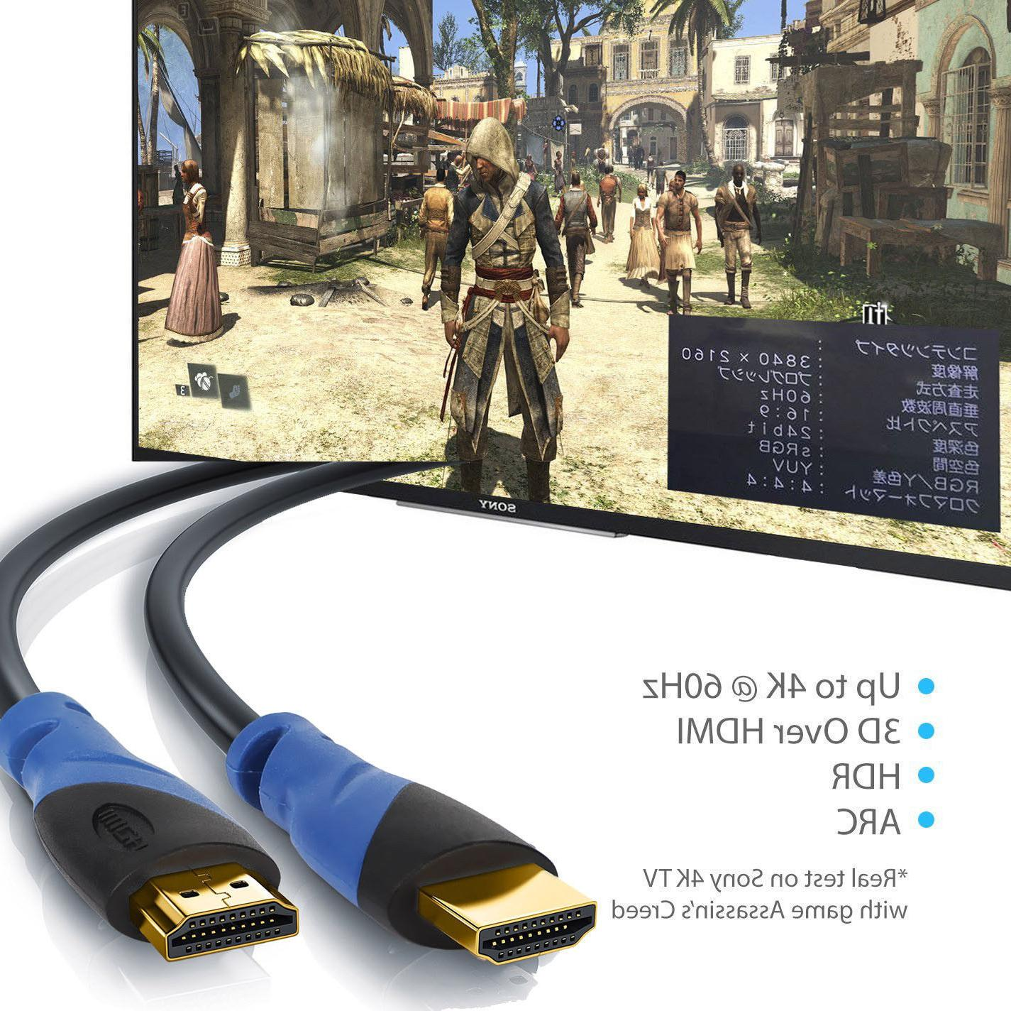 HDMI 1.4 6FT 15FT 30FT 75FT HIGH SPEED Blue