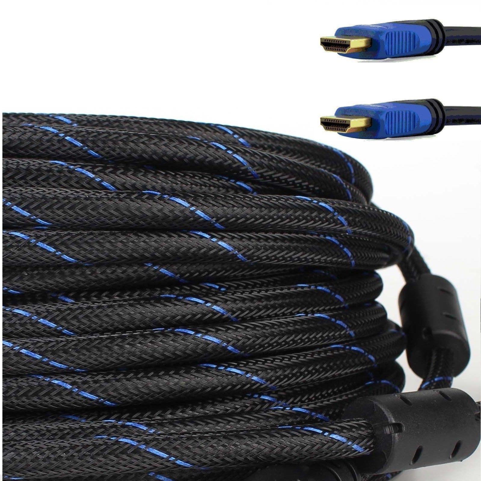 HDMI CABLE Cord 6FT 15FT 30FT 50FT HIGH SPEED Blue