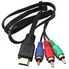 1.5M HDMI 5Ft To 3-RCA Video Audio AV Component Adapter Cabl