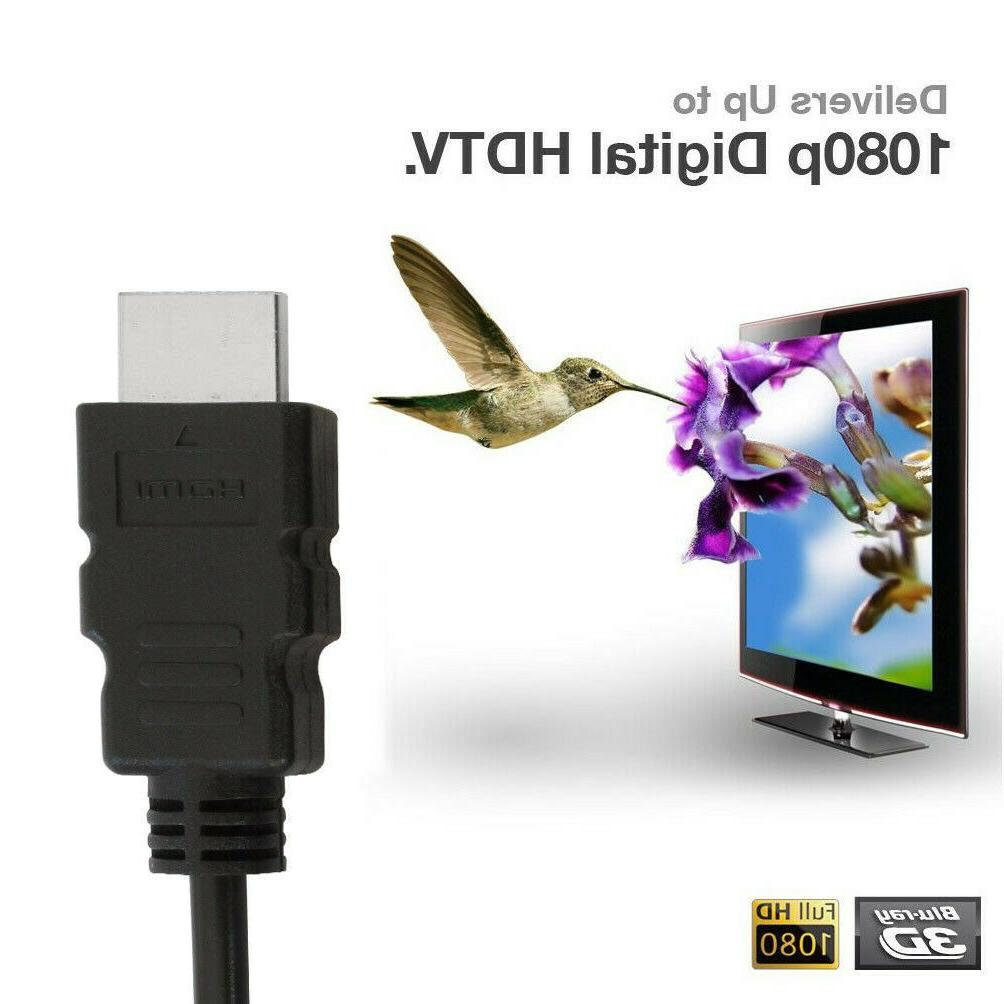 HDMI 1.4 3D HDTV PC ONE High Plug 5 30 50