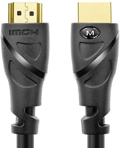 Mediabridge HDMI Cable  - Supports 4K@60Hz - High Speed, Han