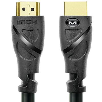 Mediabridge HDMI Cable 6 Feet Supports 4K@60Hz, High Speed,