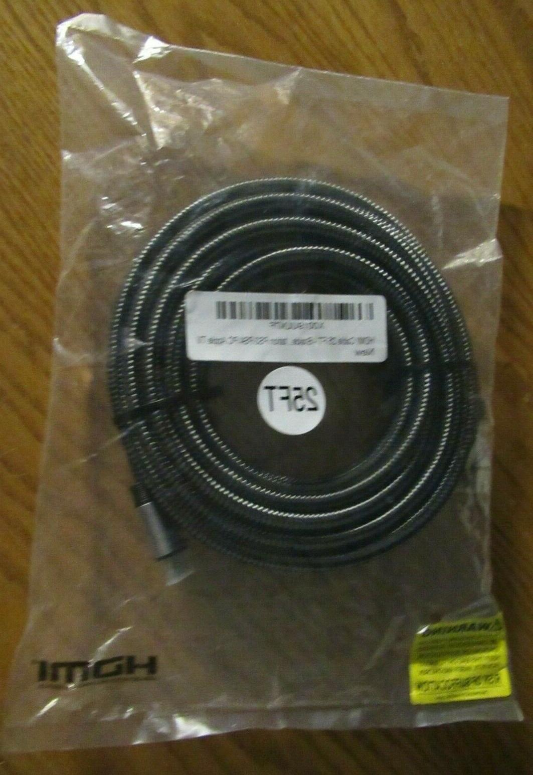 hdmi cable 4k with braided cord 25