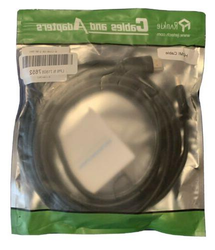 hdmi cable 6ft high speed nylon braided
