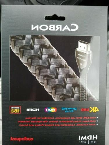 hdmi cable carbon 18gb 6 7 new