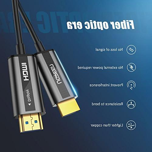 UGREEN HDMI 4K 60Hz HDMI Support Premium High-Speed 3D 4K 4 4 Suitable TV, HDTV, Roku TV Box, Playstation PS3, Xbox One,