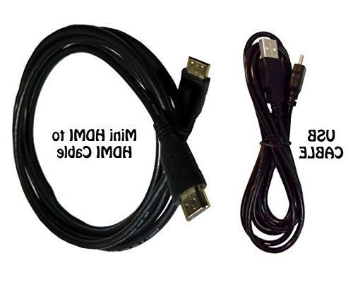 HDMI Cable for Canon EOS SL2 DSLR Camer