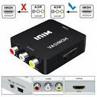 HDMI To RCA AV/CVBS Video Cables Converter Adapter Audio Acc
