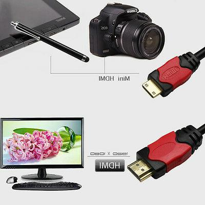 High Speed to MINI-HDMI Cable Adapter for Nikon