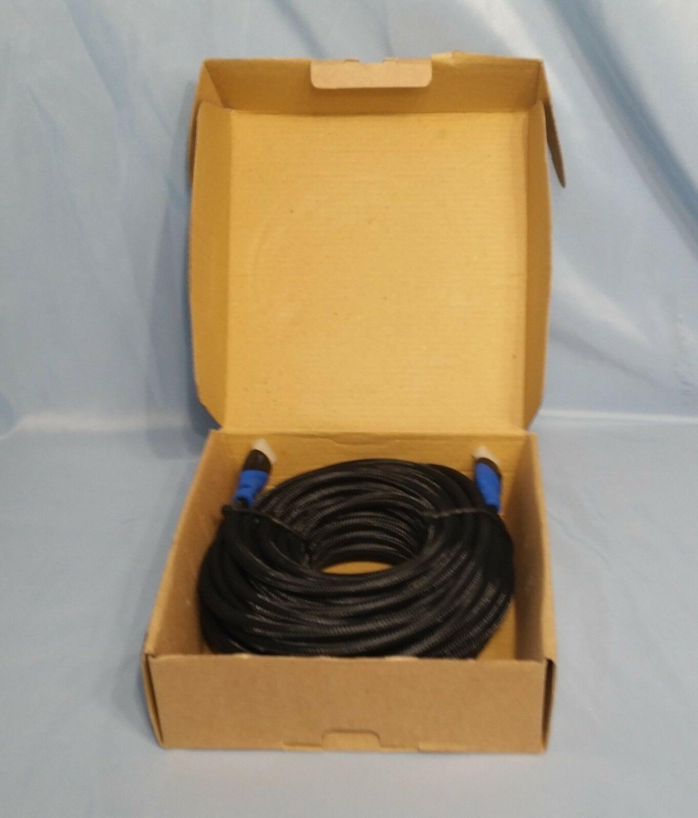 BlueRigger High Speed Nylon 50 ft. HDMI Cable ~ New,